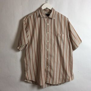 Nat Nast Cotton Men's Casual ButtonUp Shirt Large